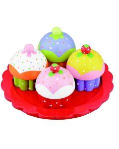 Treleke - Muffins på fat