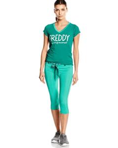 Sportsantrekk bukse Tights og t-skjorte dame Freddy WRS2LDS5TS