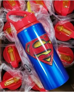 Drikkeflaske 600ml Superman