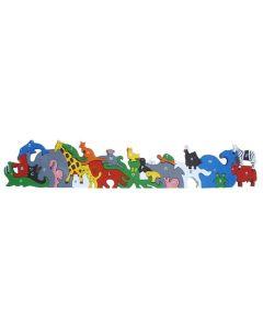 SRI Toys - Dyrealfabet - Puslespill