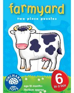 Orchard Toys - Puslespill - Farmyard