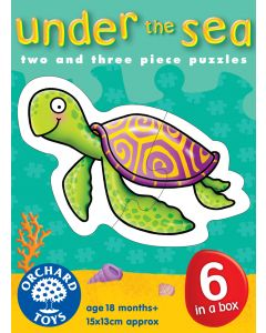 Orchard Toys - Puslespill - Under the sea