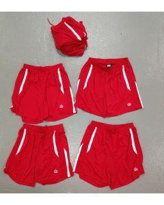 Shorts Admiral rød treningsshorts retro kortbukse varierte størrelser
