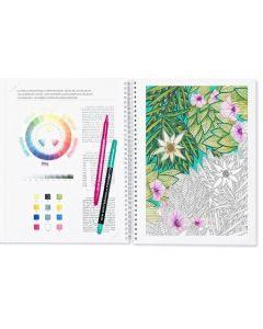 Mindful malebok. Vidunderlige mandalaer og zendoodle. Avansert kunstterapi for voksne.