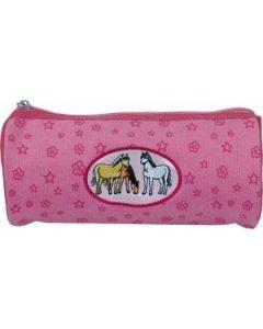 pennalhus rosa hest