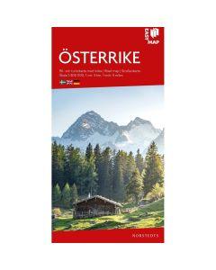 Landskart og bilkart Østerike EasyMap