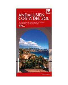 Landskart og bilkart Andalusia og Costa del sol EasyMap
