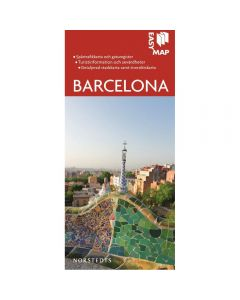 Bykart Barcelona EasyMap stadskarta