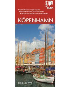 Bykart København Köpenhamn EasyMap stadskarta