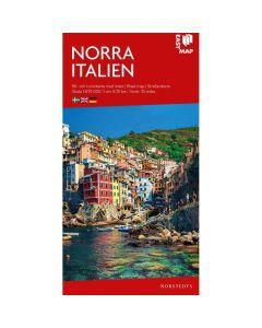 Landskart og bilkart Nord Italia EasyMap