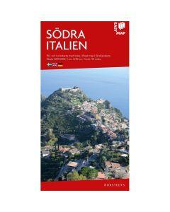 Landskart og bilkart Sør Italia EasyMap