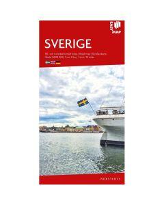 Landskart og bilkart Sverige EasyMap