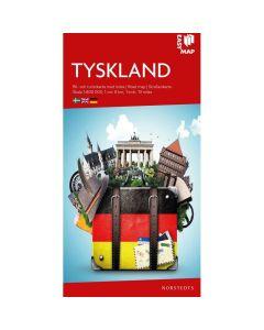 Landskart og bilkart Tyskland EasyMap