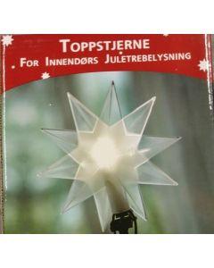 Pynt engel hvit hengende julepynt 9 x10,5 cm
