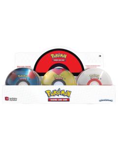 Pokemon Pokeball Tin Q1 2021 - Komplett Set