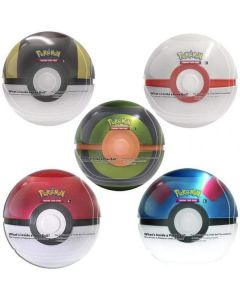 Pokemon Pokeball Tin Q3 2020 - Komplett Set