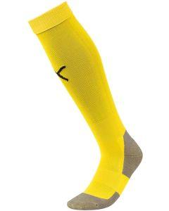 Puma LIGA  Fotballsokker, Unisex Sokker Cyber yellow / svarte