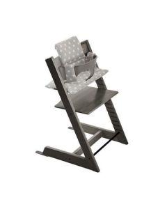 Tilbehør barnestol Stokke Tripp Trapp klassisk pute grå med stjerner