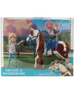 Spirit Riding Free Collector Spirit Abigail Dokke & Boomerang Hest