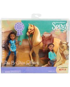 Spirit Riding Free Collector Pru Dokke & Chica Linda Hest