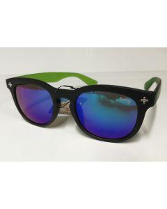 Swing solbrille til barn sort og grønn