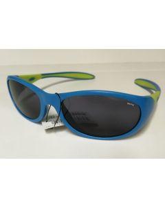 Swing sportslig solbrille til barn blå og grønn