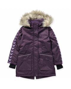 Stinna Coat jakke fra Hummel i lilla farge