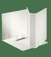 Ringperm brevordner Emo høy kvalitet A4 - ulike farger