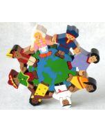 SRI Toys - Verdens Barn - Puslespill