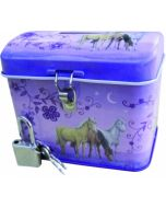 Hest - Sparebørse - lilla