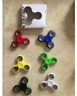 Fidget spinner (rød, gul, grønn, sort, lys blå og blå)